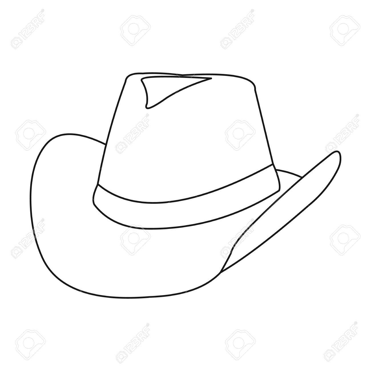 13 High Quality Cowboy Outlines.