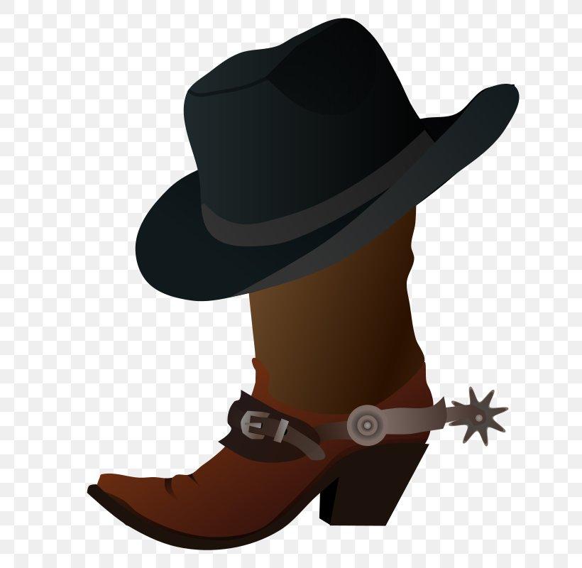 Hat N Boots Cowboy Boot Cowboy Hat Clip Art, PNG, 755x800px.