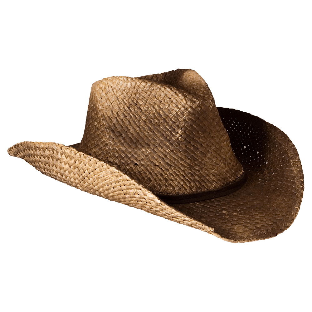 Cowboy Hat Straw transparent PNG.