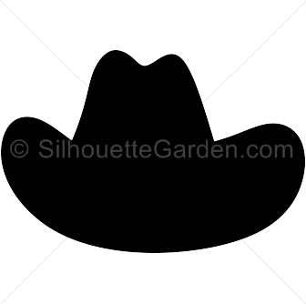 Cowboy hat silhouette clip art. Download free versions of the.