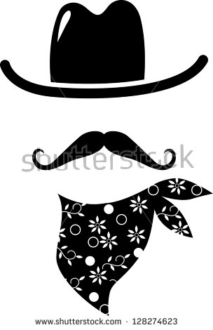 Cowboy Hat Stock Images, Royalty.