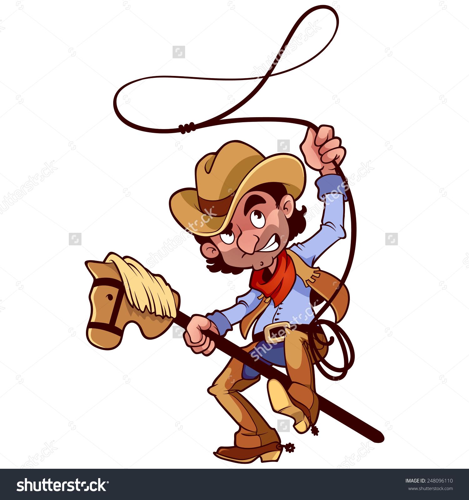 Cowboy Lasso Clipart.