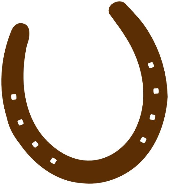 Cowboy Lasso And Horse Shoe Clipart.