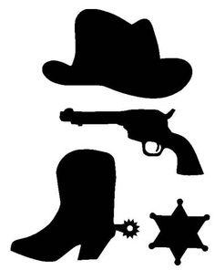 western silhouette clip art free.
