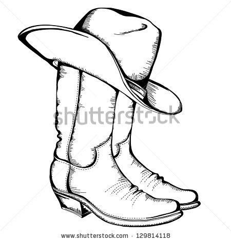 Cowboy Look Clipart