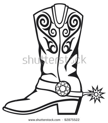 Cowboy Boots Stock Images, Royalty.