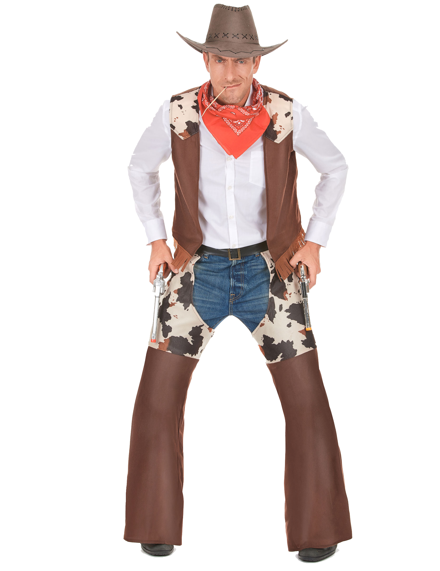 Cowboy PNG Background Clipart.