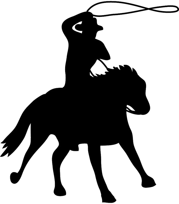 Cowboy PNG Background Image.