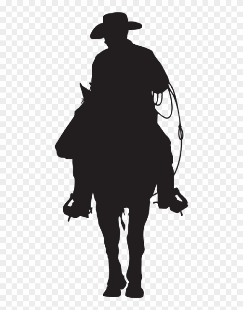 Cowboy Silhouette Png.