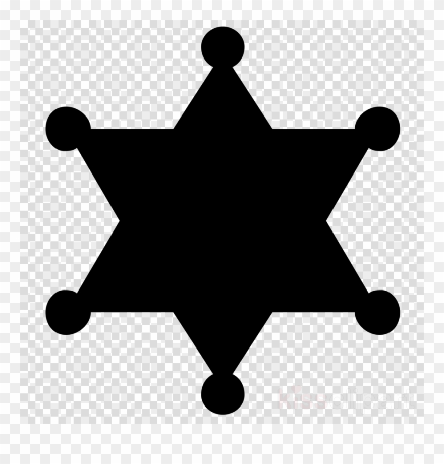 Sheriff Star Vector Clipart Sheriff Badge.