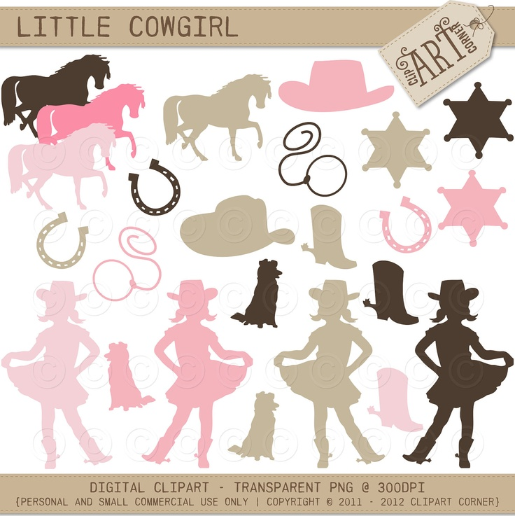 free cowgirl clipart.