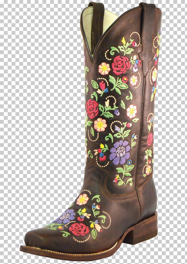 Cowboy boot Shoe, printed cowboy vest PNG clipart.