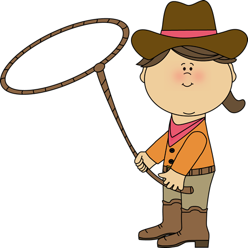 Cowgirl with a Lasso.