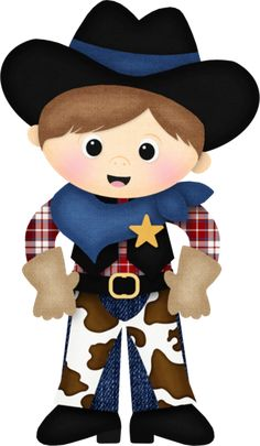 Cowboy and cowgirl clipart » Clipart Station.