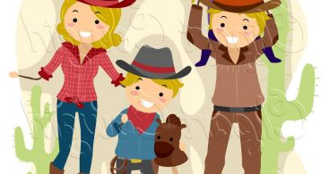 Cowboy And Cowgirl Clip Art Archives.