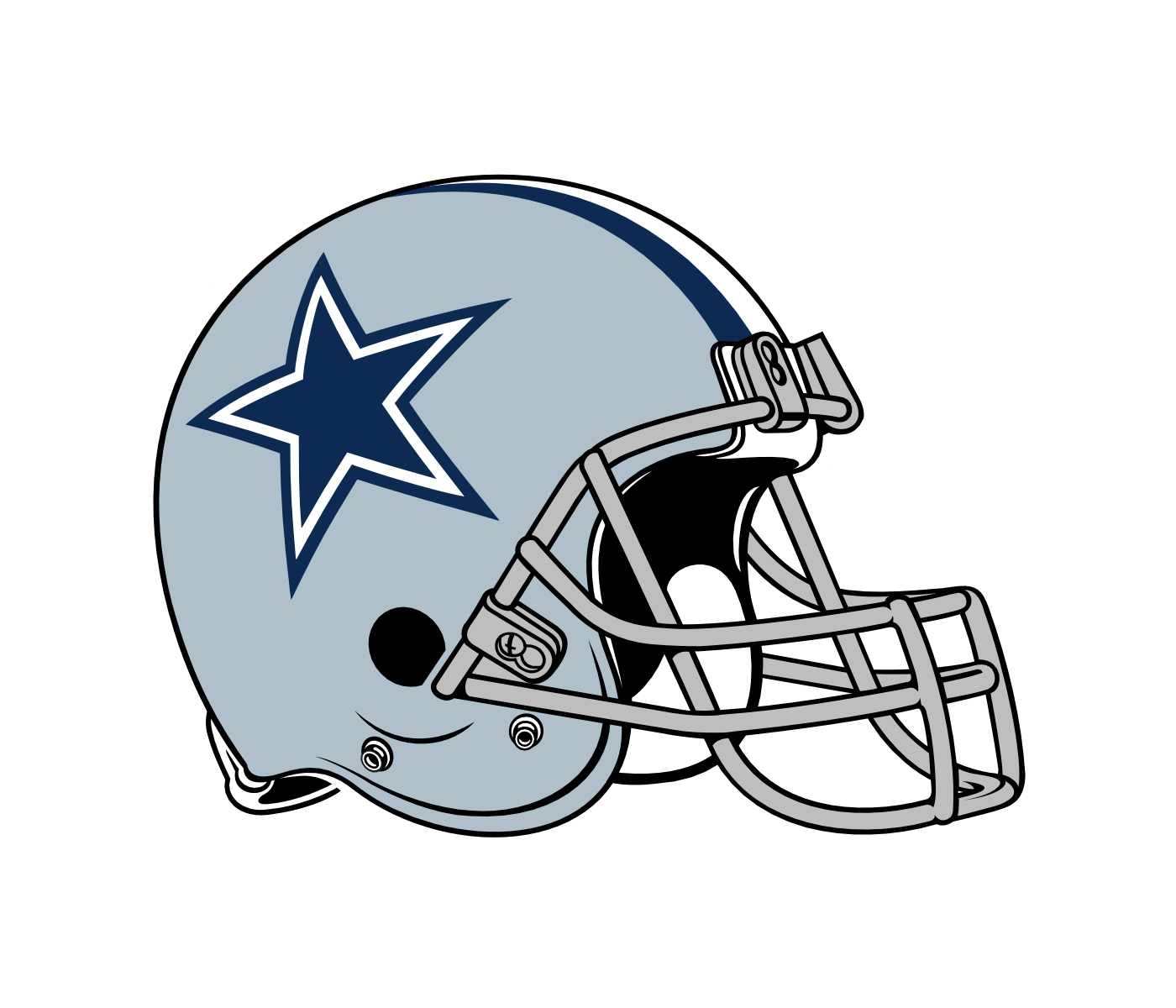 Dallas cowboys helmet clipart at free for personal png.