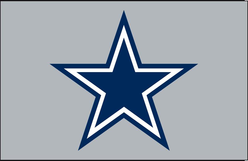 Dallas Cowboys Primary Dark Logo.