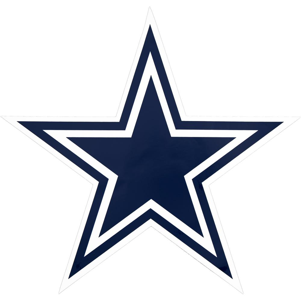 NFL Dallas Cowboys Outdoor Logo Graphic.