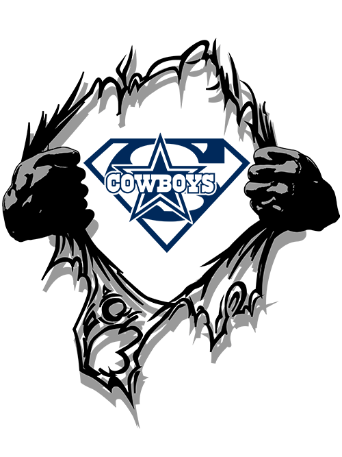 Cowboys Super Logo PNG & SVG.