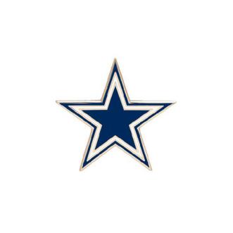 Dallas Cowboys Star Logo Pin.