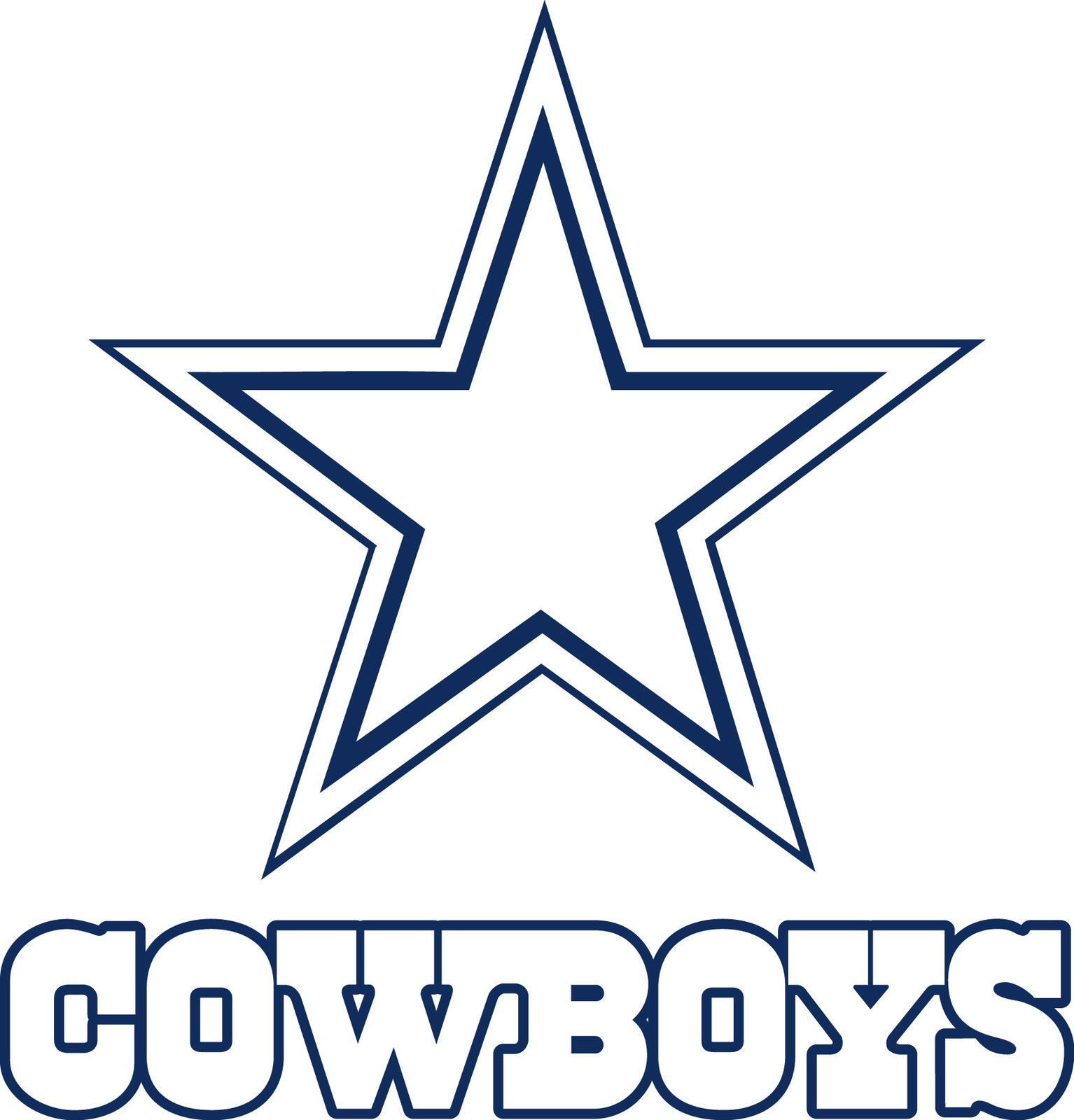 Cool Dallas Cowboys Logo Icon.