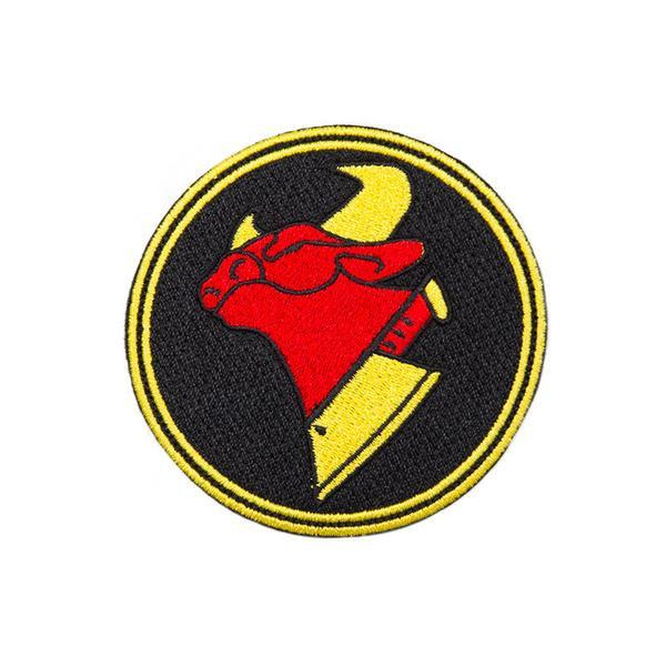 Cow Chop Logo Patch.