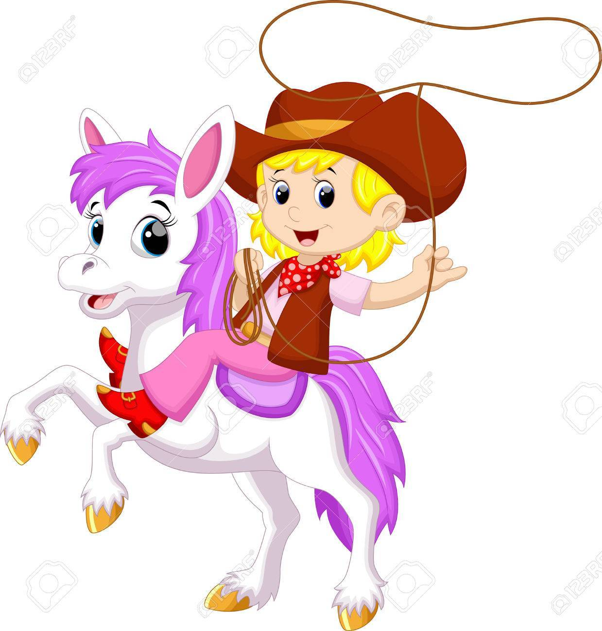 Cowgirl cartoon clipart 3 » Clipart Portal.
