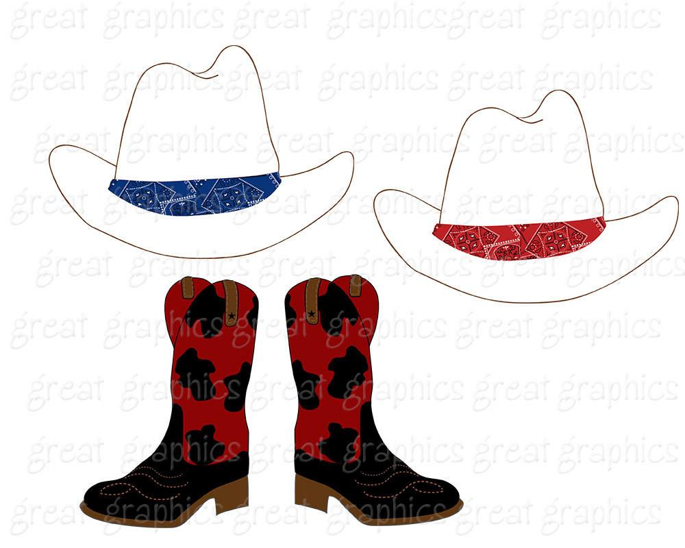 Cowboy And Cowgirl Clipart.