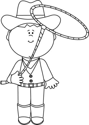 Cowgirl clipart black and white » Clipart Portal.