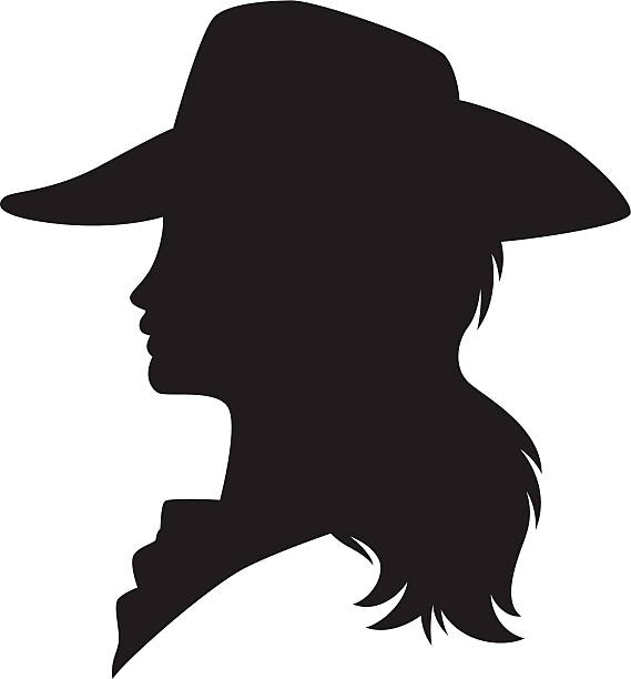 Best Cowgirl Illustrations, Royalty.