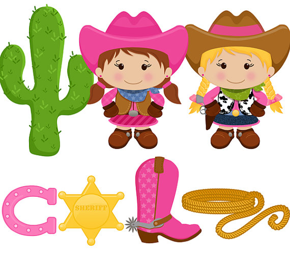 Cowgirl clipart free » Clipart Station.