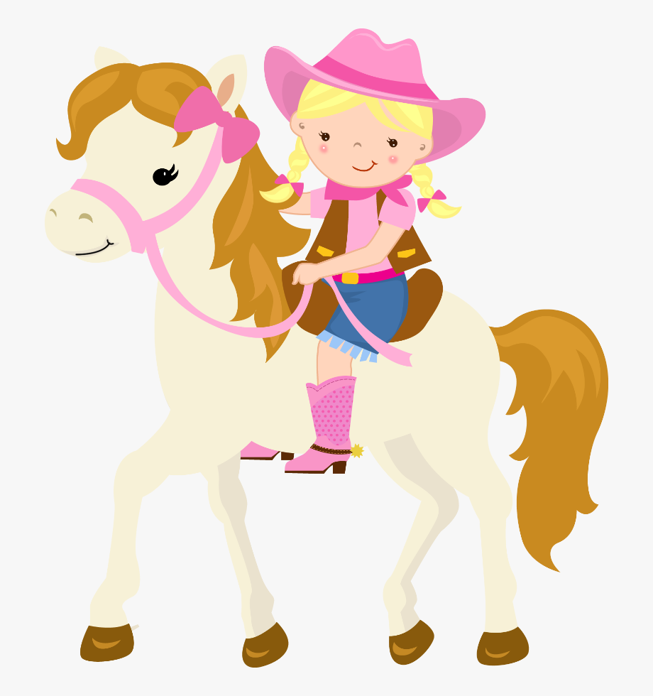 Cowgirl On Horse Clipart, Cliparts & Cartoons.