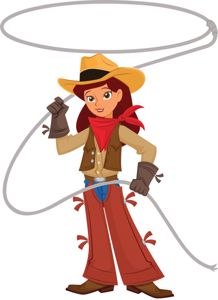Cowboy Cowgirl Png Image Vector, Clipart, PSD.