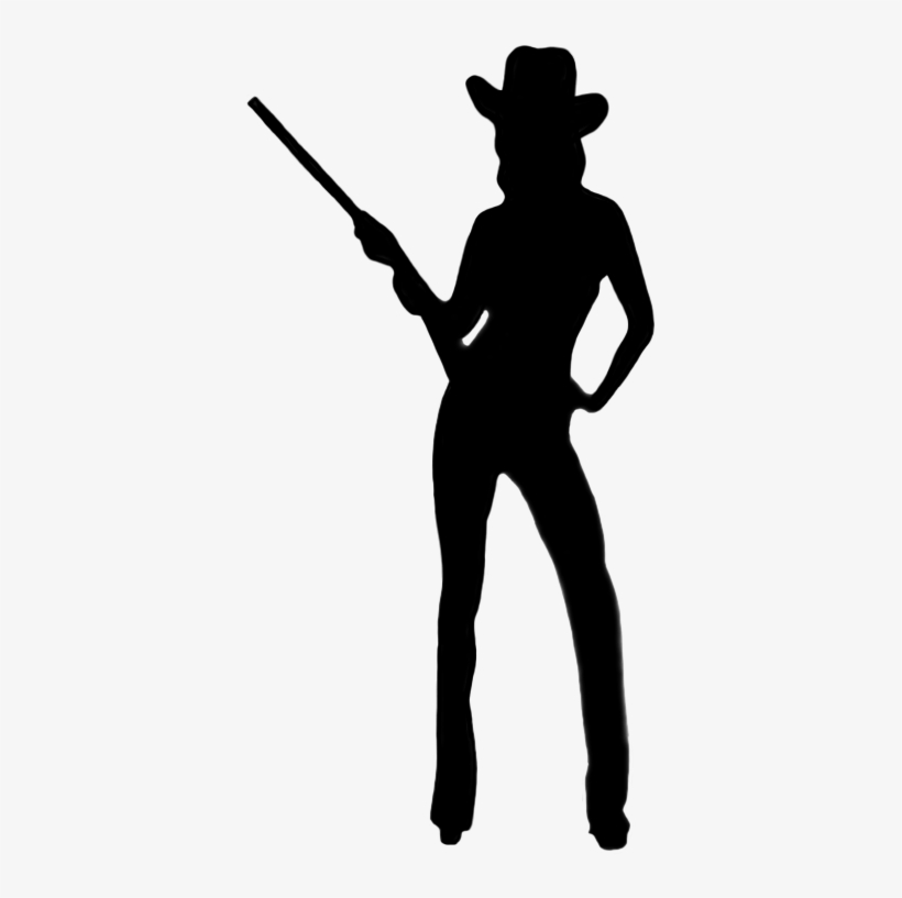 Cowgirl Silhouette.