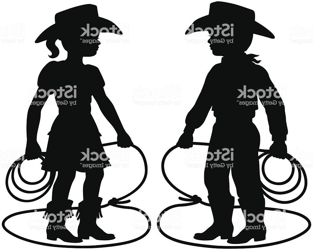 Best HD Cowboy And Cowgirl Silhouette Patterns Vector File Free.