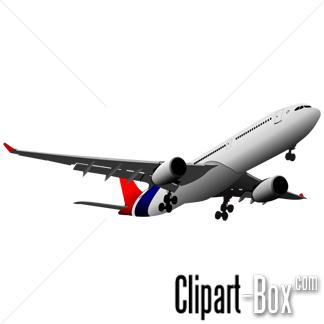 free clip art, plane.