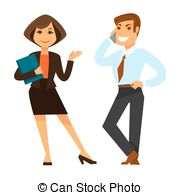 Co workers Clipart Vector Graphics. 682 Co workers EPS clip.