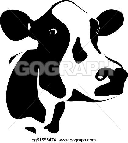 Royalty Free Cows Clip Art.