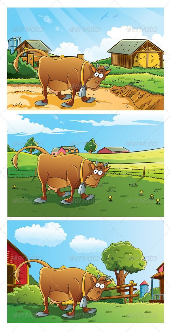 Farm Background.