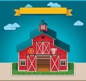 Cowshed Clip Art.