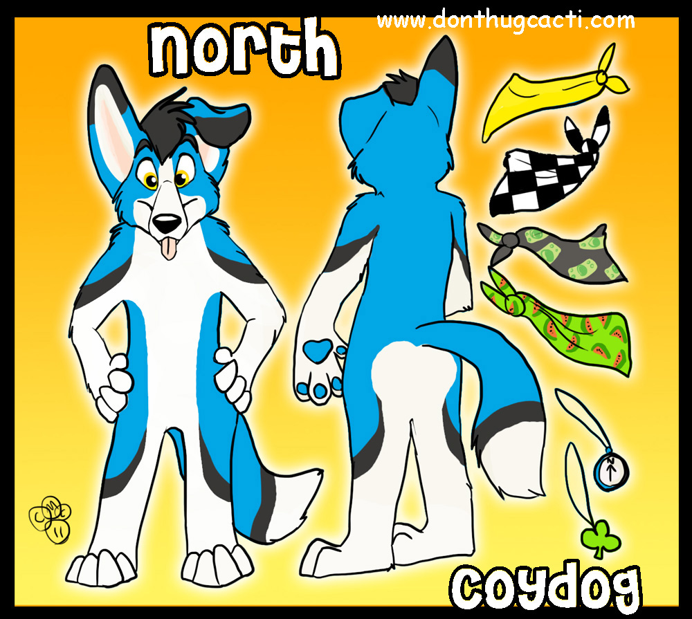 North CoyDog Ref by BlondeFoxy.