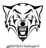 Coyote Clip Art.