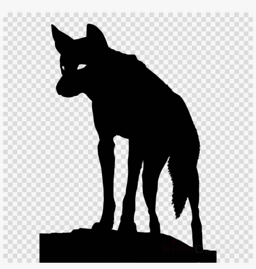 Dingo Silhouette Clipart Dingo Coyote Clip Art.