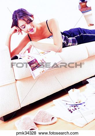 Pictures of lifestyle, woman, female, rest, holiday, comfort.