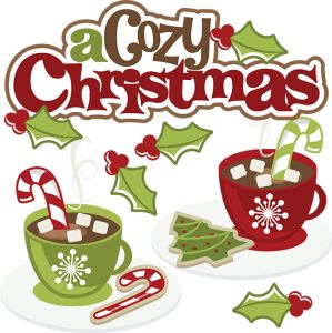 A Cozy Christmas SVG cute christmas clipart christmas svg.
