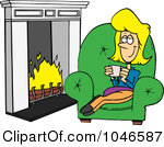 Warm and cozy clipart.