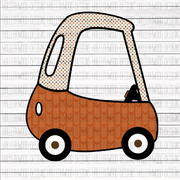 Fall Cozy Coupe.