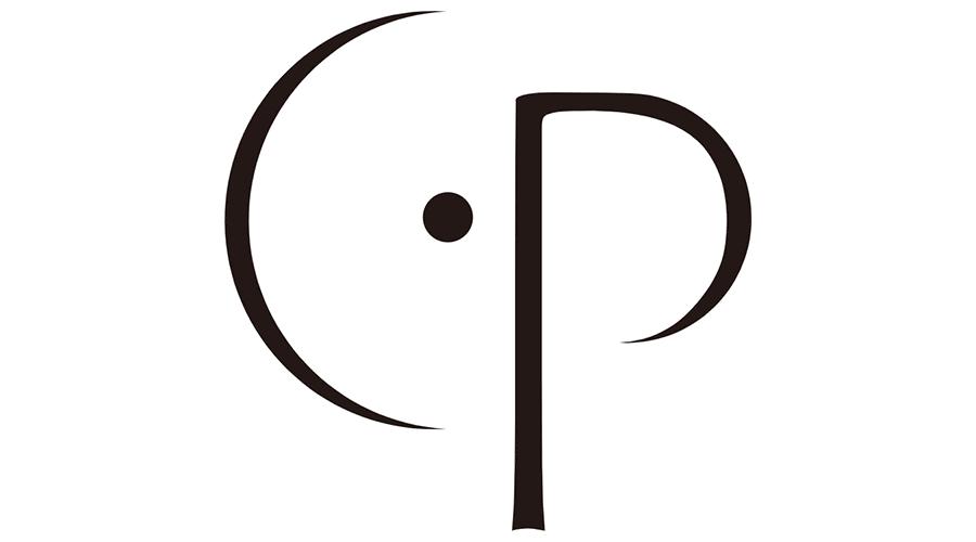 CenterPoint CP Icon Logo Vector.