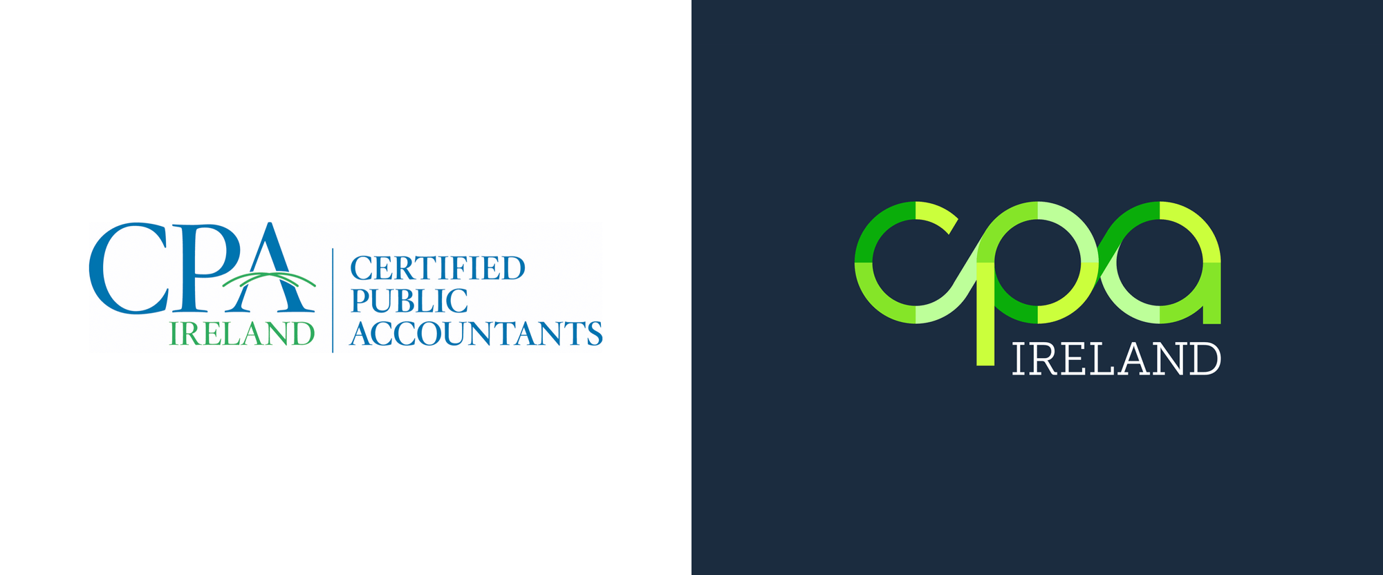 Brand New: New Logo and Identity for CPA Ireland by White Bear Studio.