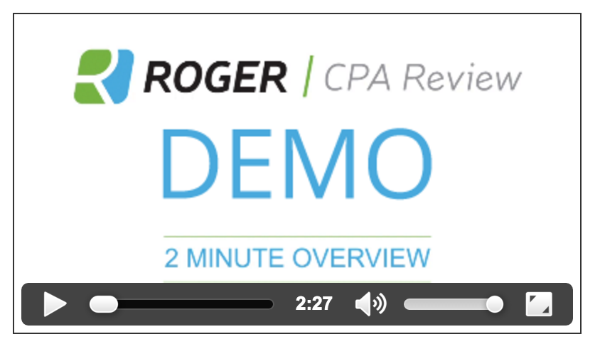 Roger CPA Review Course 2019 [What Other Reviews Won't Tell You].